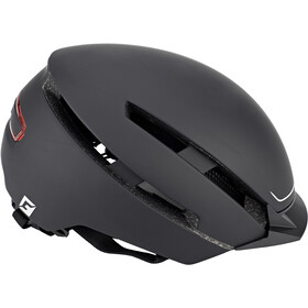 Cratoni C-Loom Kask rowerowy, black-white rubber